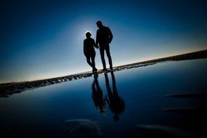 Coupleshoot | Loveshoot | Engagement shoot | Sunset shoot