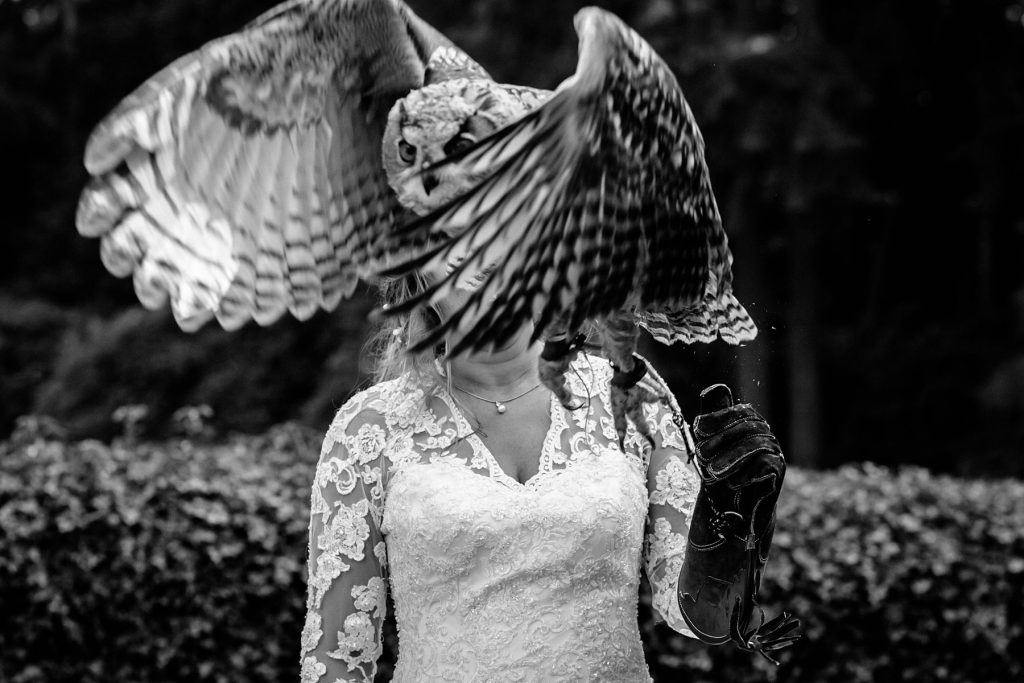 Originele bruidsfotografie | Mooiste trouwfotografie | Bruid | Zwart-wit