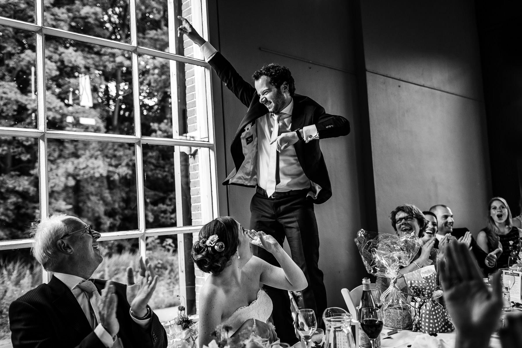 Bruidsfotografie | Originele trouwfoto's | Zwart-wit foto | Twentyfive Collective