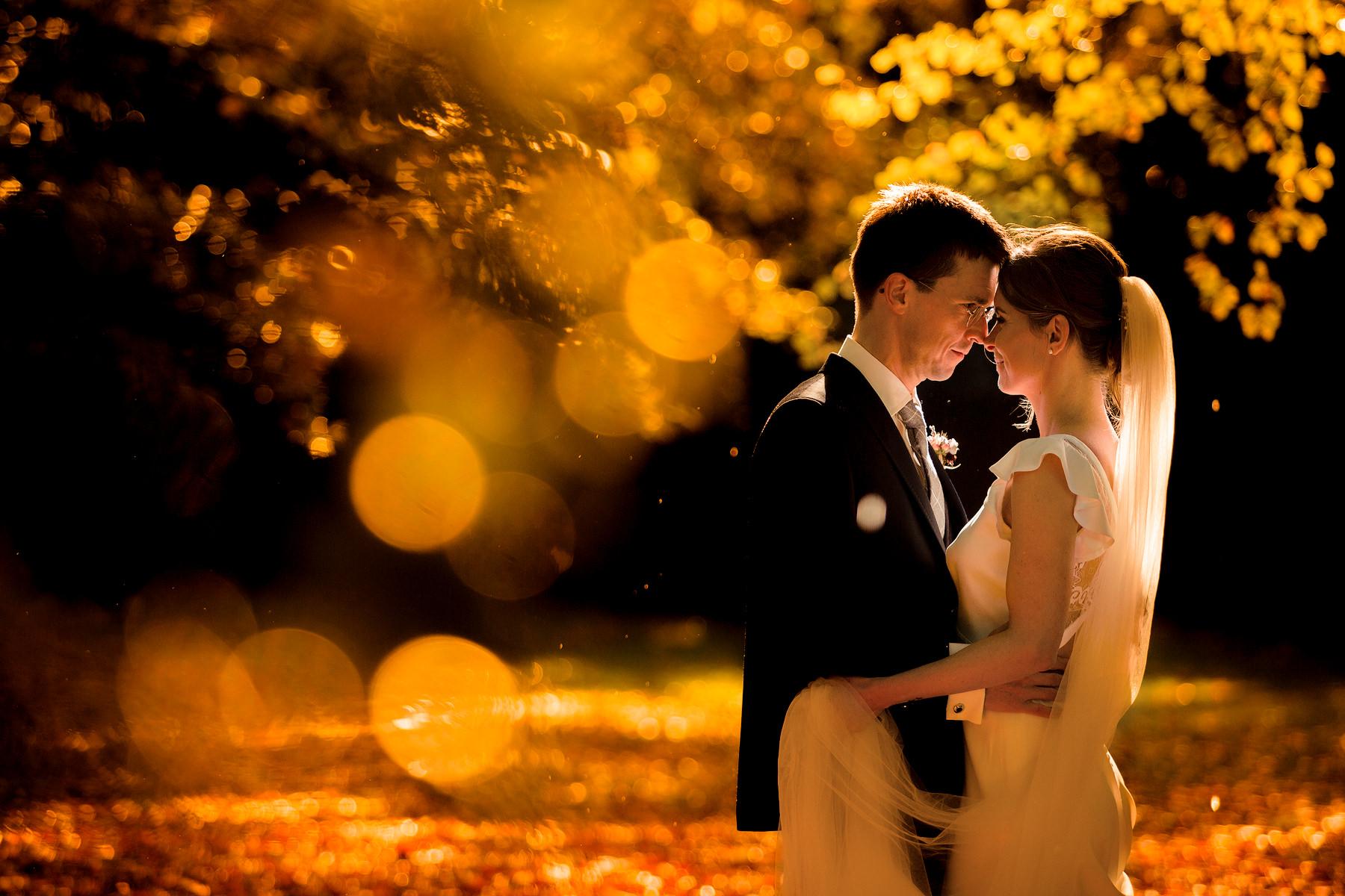Trouwen in de herfst | Trouwfoto's herfst | Trouwfotoshoot