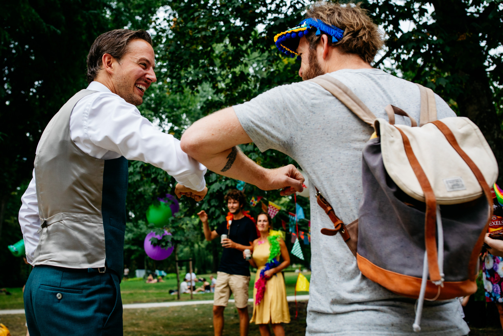 Social distance | Corona bruiloft gasten