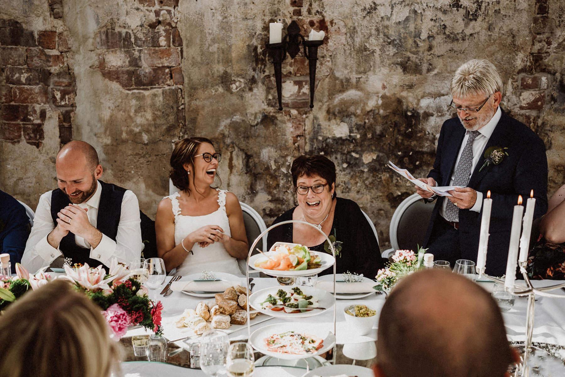 Trouwfoto | Vaderdag | Speech op bruiloft
