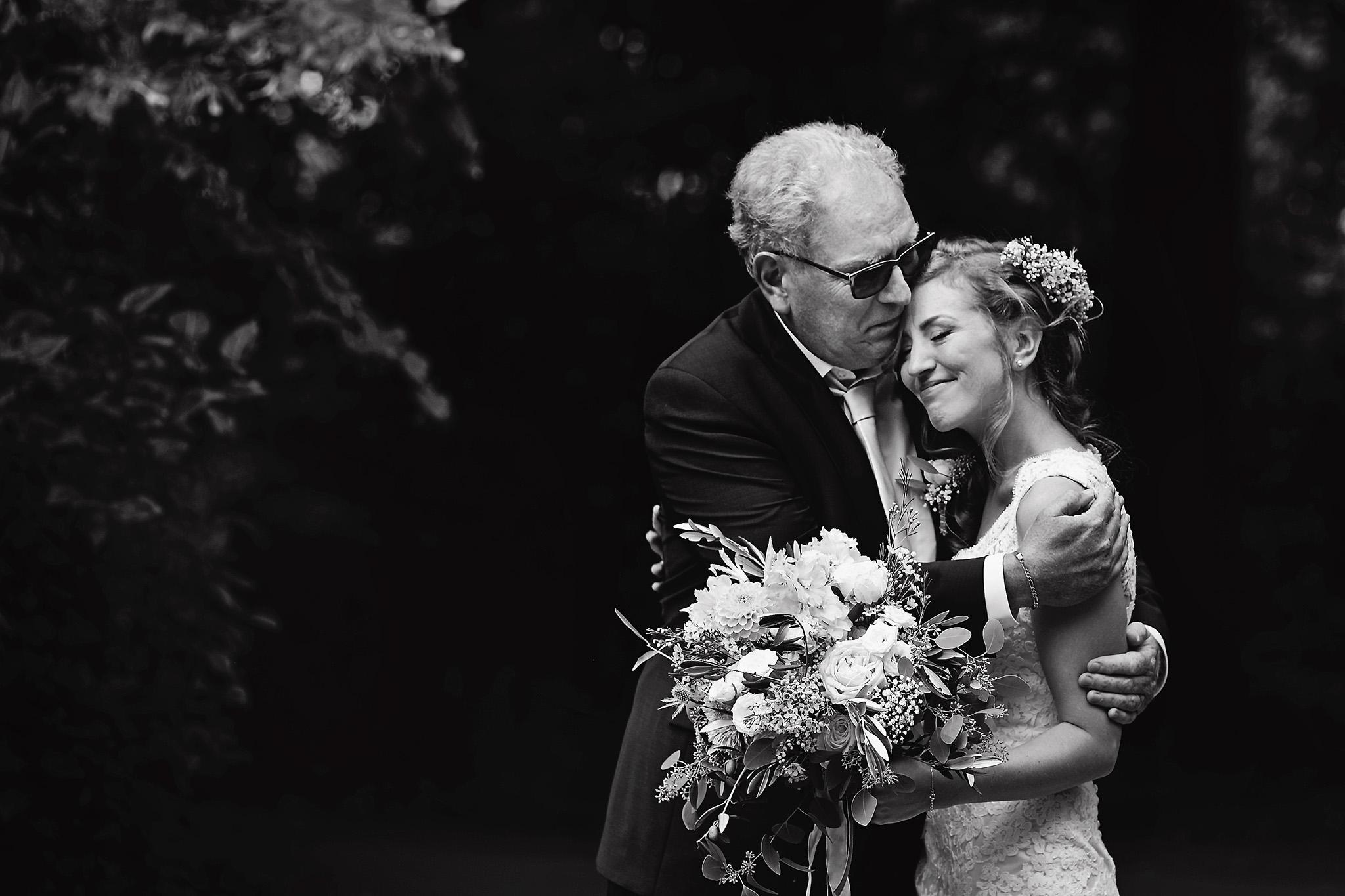Vader en dochter | Trouwfoto | Vader van de bruid