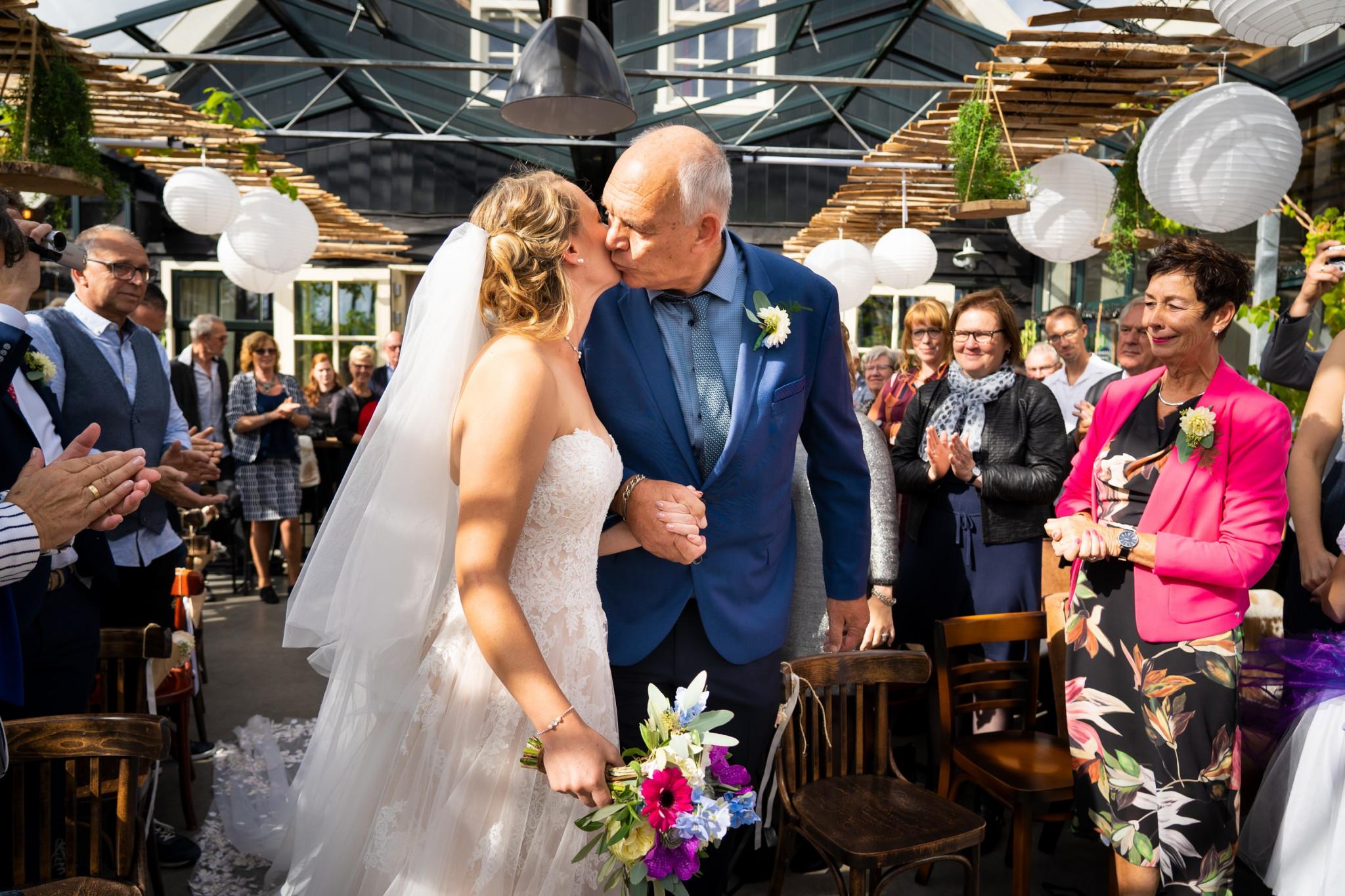 Vader vand e bruid | Weggeefmoment | Vaders op bruiloften